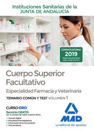 CUERPO SUPERIOR FACULTATIVO DE LAS INSTITUCIONES SANITARIAS DE LA JUNTA DE ANDAL