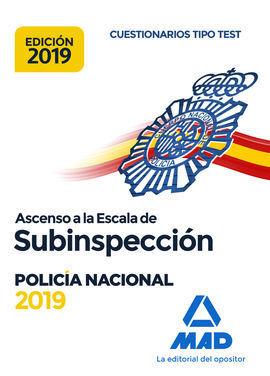 019 ASCENSO A LA ESCALA SUBINSPECCION POLICIA NACIONAL