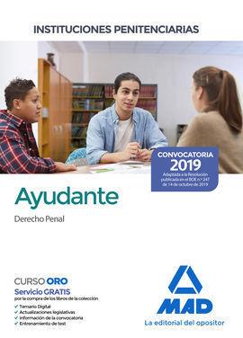 AYUDANTE DE INSTITUCIONES PENITENCIARIAS. DERECHO PENAL