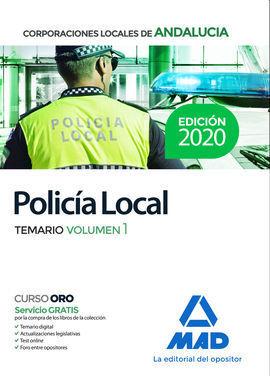 POLICÍA LOCAL DE ANDALUCÍA. TEMARIO VOLUMEN 1