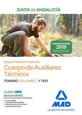 CUERPO DE AUXILIARES TECNICOS JUNTA DE ANDALUCIA OPCION MEDIO AMBIENTE TEMARIO V