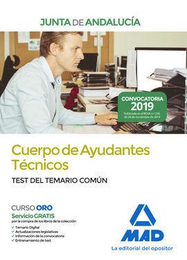 AYUDANTES TECNICOS JUNTA ANDALUCIA TEST COMUN