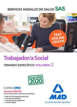 TRABAJADOR/A SOCIAL DEL SERVICIO ANDALUZ DE SALUD. TEMARIO ESPECÍFICO VOLUMEN 2