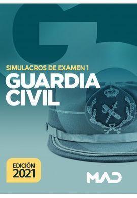 GUARDIA CIVIL SIMULACROS DE EXAMEN 1 (2021)
