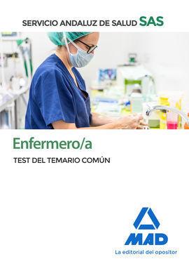 ENFERMERO/A DEL SERVICIO ANDALUZ DE SALUD. TEST DEL TEMARIO COMÚN.