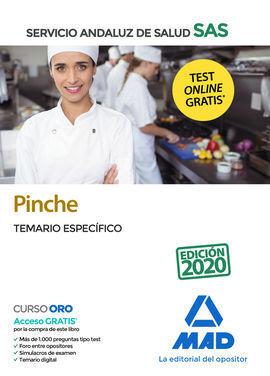 PINCHE DEL SERVICIO ANDALUZ DE SALUD. TEMARIO ESPECÍFICO