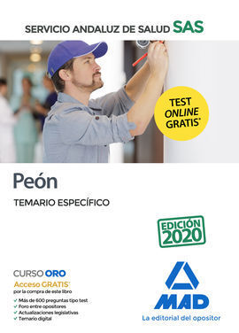 PEÓN DEL SERVICIO ANDALUZ DE SALUD. TEMARIO ESPECÍFICO