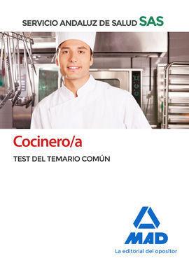 COCINERO/A DEL SERVICIO ANDALUZ DE SALUD. TEST COMÚN