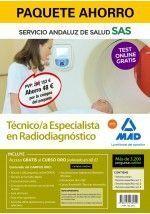 PAQUETE AHORRO Y TEST ONLINE GRATIS TÉCNICO/A ESPECIALISTA EN RADIODIAGNÓSTICO D