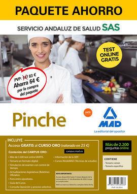 PAQUETE AHORRO Y TEST ONLINE GRATIS PINCHE DEL SERVICIO ANDALUZ DE SALUD. AHORRA