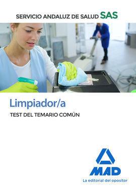 LIMPIADOR/A DEL SERVICIO ANDALUZ DE SALUD. TEST COMÚN