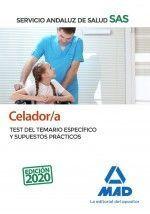 CELADOR/A DEL SERVICIO ANDALUZ DE SALUD. TEST DEL TEMARIO ESPECÍFICO Y SUPUESTOS