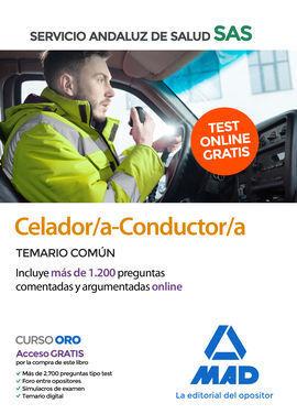CELADOR/A-CONDUCTOR/A DEL SERVICIO ANDALUZ DE SALUD. TEMARIO COMÚN
