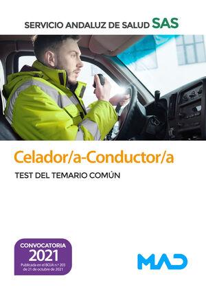 CELADOR/A-CONDUCTOR/A DEL SERVICIO ANDALUZ DE SALUD. TEST DEL TEMARIO COMÚN