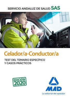 CELADOR/A-CONDUCTOR/A DEL SERVICIO ANDALUZ DE SALUD. TEST DEL TEMARIO ESPECÍFICO