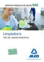 LIMPIADOR/A DEL SERVICIO ANDALUZ DE SALUD. TEST DEL TEMARIO ESPECÍFICO