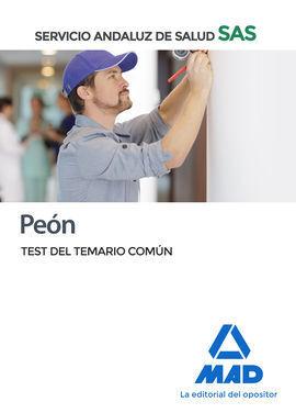 PEÓN DEL SERVICIO ANDALUZ DE SALUD. TEST COMÚN