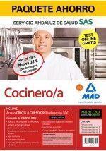 COCINERO/A DEL SERVICIO ANDALUZ DE SALUD. PAQUETE AHORRO Y TEST ONLINE GRATIS
