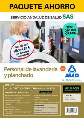 PERSONAL DE LAVANDERÍA Y PLANCHADO  SAS. PAQUETE AHORRO Y TEST ONLINE GRATIS