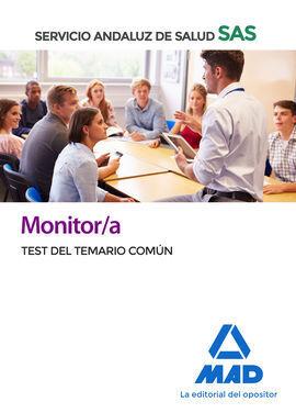 MONITOR/A DEL SERVICIO ANDALUZ DE SALUD. TEST COMÚN