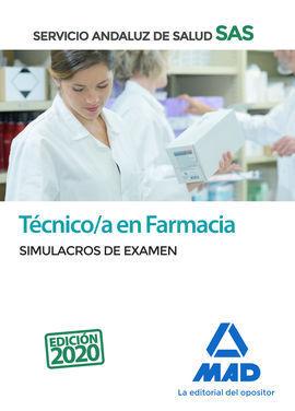 TÉCNICO EN FARMACIA DEL SERVICIO ANDALUZ DE SALUD. SIMULACROS DE EXAMEN