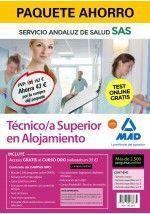 PAQUETE AHORRO Y TEST ONLINE GRATIS TÉCNICO/A SUPERIOR EN ALOJAMIENTO DEL SERVIC