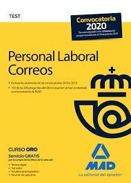 PERSONAL LABORAL DE CORREOS Y TELÉGRAFOS. TEST