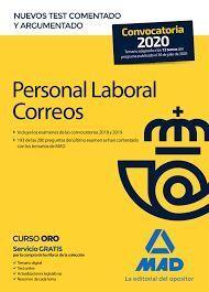 CORREOS. NUEVOS TEST COMENTADOS Y RAZONADOS