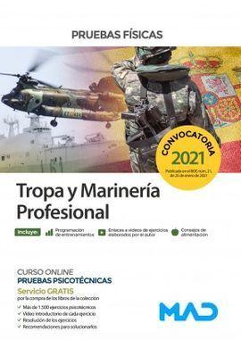 TROPA Y MARINERÍA PROFESIONAL. PRUEBAS FÍSICAS