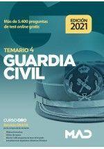 GUARDIA CIVIL TEMARIO VOLUMEN 4 (2021)