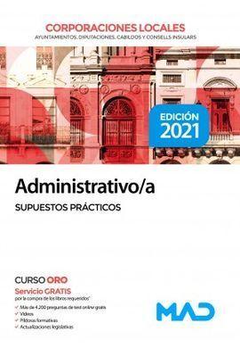 ADMINISTRATIVO/A DE CORPORACIONES LOCALES SUPUESTOS PRACTICOS