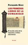 LOS PRIMEROS LIBROS DE LA HUMANIDAD