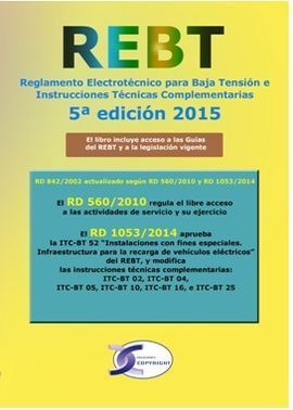 REBT REGLAMENTO ELECTROTECNICO BAJA TENSION