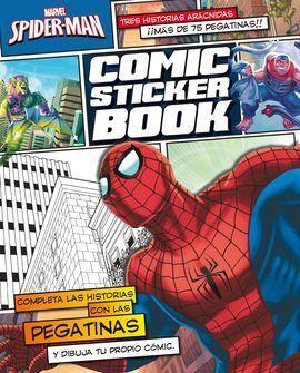 SPIDER-MAN. COMIC STICKER BOOK