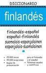 DICCIONARIO FINLANDES-ESPAÑOL / ESPAÑOL-FINLANDES