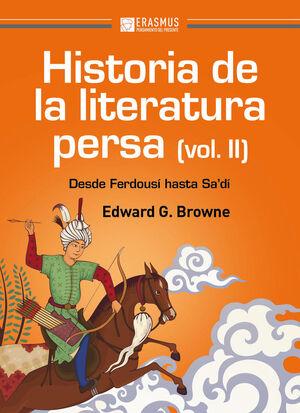 HISTORIA DE LA LITERATURA PERSA (VOLUMEN II)