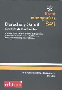 DERECHO Y SALUD. ESTUDIOS DE BIODERECHO