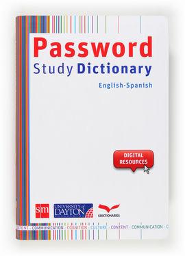 PASSWORD STUDY DICTIONARY