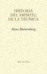 HISTORIA DEL ESPIRITU DE LA TECNICA