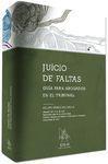 JUICIO DE FALTAS