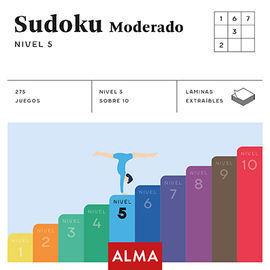 SUDOKU MODERADO. NIVEL 5 (CUADRADOS DE DIVERSION)