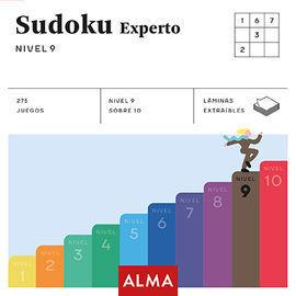 SUDOKU EXPERTO. NIVEL 9 (CUADRADOS DE DIVERSION)