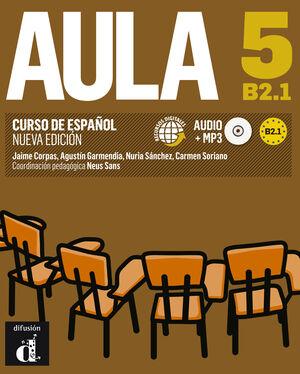 AULA 5 NUEVA EDICIÓN (B2.1) - LIBRO DEL ALUMNO