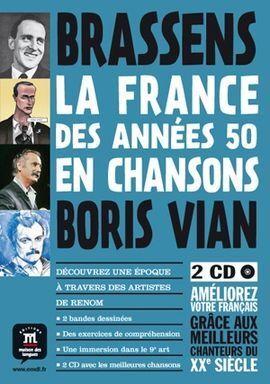LA FRANCE DES ANNÉES 50 EN CHANSONS: CÓMIC + ACTIVIDADES +2 CD