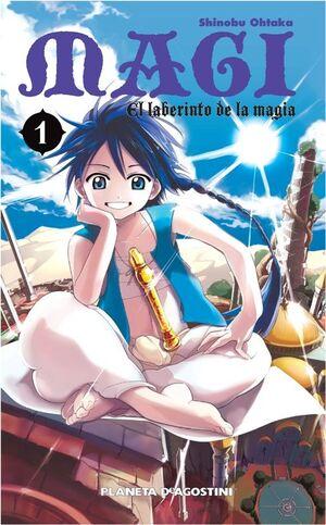 MAGI EL LABERINTO DE LA MAGIA Nº 01