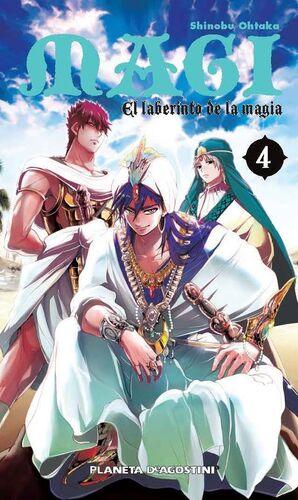 MAGI EL LABERINTO DE LA MAGIA Nº 04