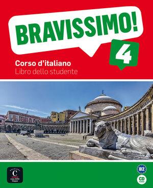 BRAVISSIMO 4 LIBRO DELLO STUDENTE + CD