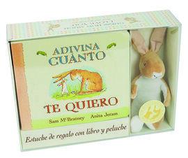 ADIVINA CUANTO TE QUIERO - ESTUCHE + PELUCHE