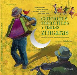 CANCIONES INFANTILES Y NANAS ZÍNGARAS + CD