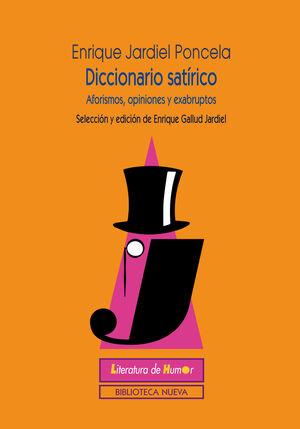 DICCIONARIO SATÍRICO DE JARDIEL PONCELA